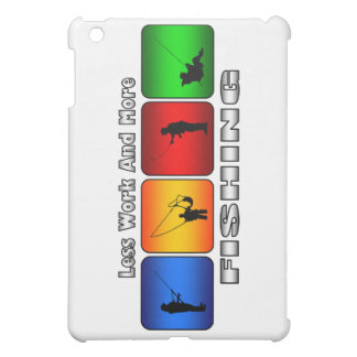 Less Work And More Fishing iPad Mini Cases