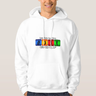 Less Work And More Golf Hoodie