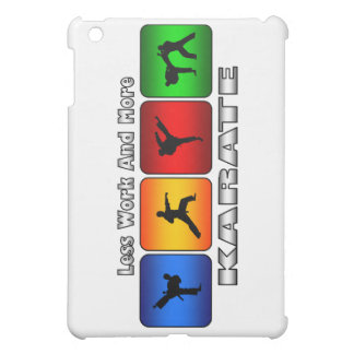 Less Work And More Karate iPad Mini Case