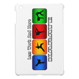Less Work And More Karate iPad Mini Cases