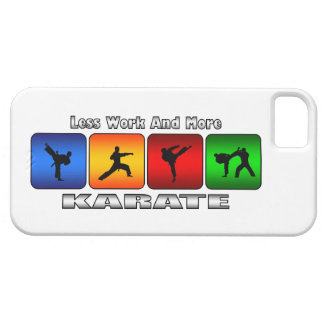 Less Work And More Karate iPhone SE/5/5s Case