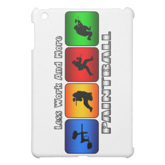 Less Work And More Paintball Cover For The iPad Mini