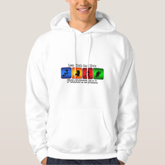 Less Work And More Paintball Hoodie