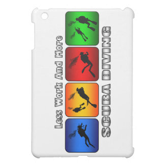 Less Work And More Scuba Diving iPad Mini Cover