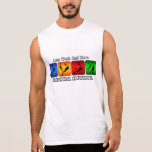 Less Work And More Scuba Diving Sleeveless T-shirt