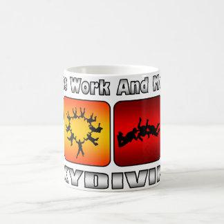 Less Work And More Skydiving Coffee Mug