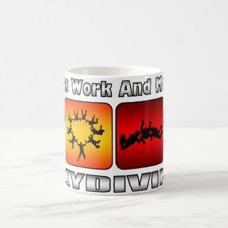 Less Work And More Skydiving Coffee Mugs