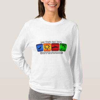 Less Work And More Skydiving T-Shirt