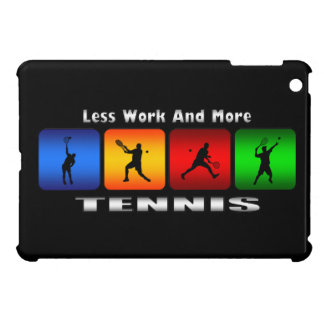 Less Work And More Tennis iPad Mini Case (Male)