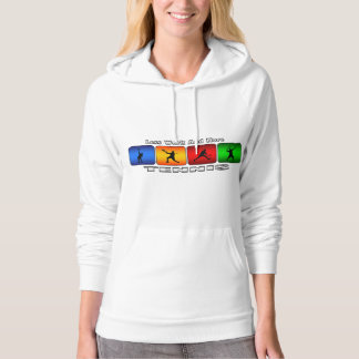 Less Work And More Tennis (Male) Hoodie