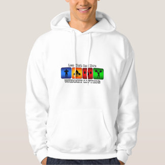 Less Work And More Weight Lifting Hoodie