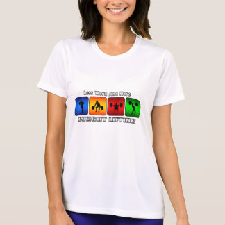 Less Work And More Weight Lifting T-Shirt