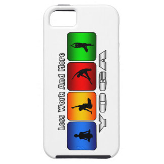 Less Work And More Yoga iPhone 5 Cover