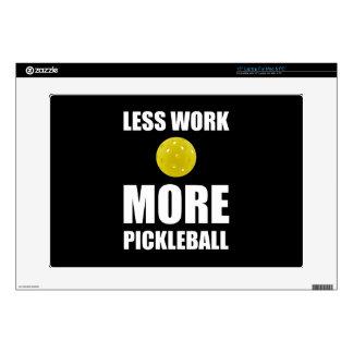 Less Work More Pickleball Laptop Skin
