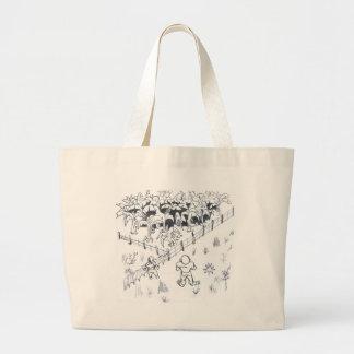 lesser banenal plantation farmer large tote bag