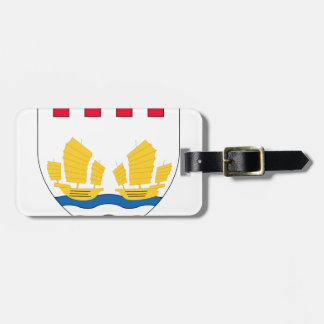 -Lesser_Coat_of_arms_of_Hong_Kong_(1959-1997 Luggage Tag