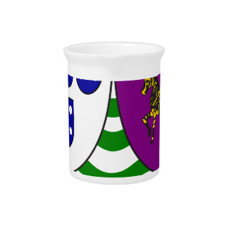 Lesser_coat_of_arms_of_Portuguese_West_Africa Drink Pitcher