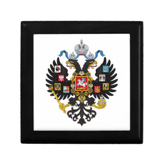 Lesser Coat of Arms of Russian Empire 1883 Gift Box