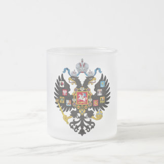 Lesser Coat of Arms of Russian Empire 1883 Coffee Mugs