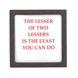 LESSER GIFT BOX
