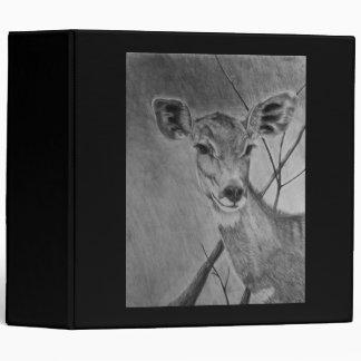 Lesser Kudu doe - Graphite Drawing Binder