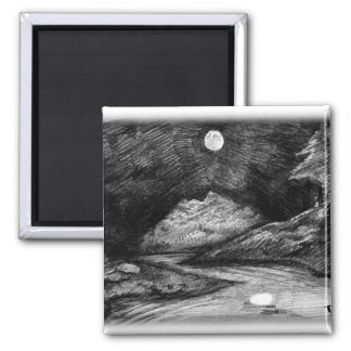 Lesser Luminary 2 Inch Square Magnet