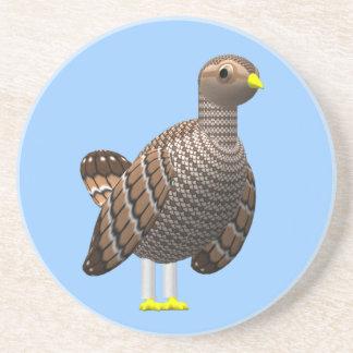 Lesser Prairie Chicken Coaster