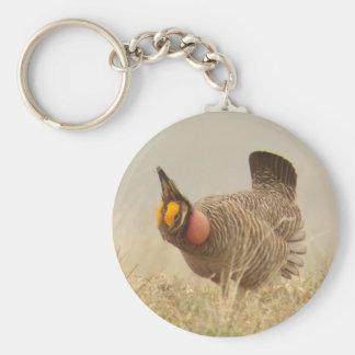 Lesser Prairie Chicken Keychain