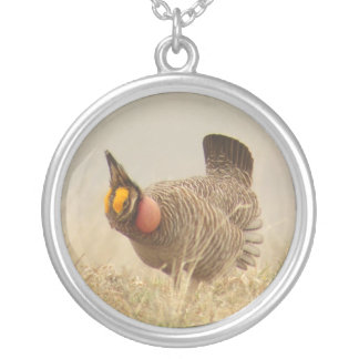 Lesser Prairie Chicken Necklace