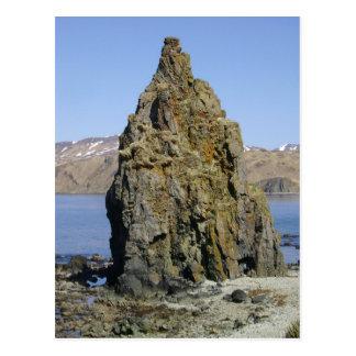 Lesser Priest Rock, Unalaska Island Postcard