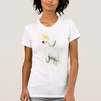 Lesser Sulphur-Crested Cockatoo by Edward Lear Tees