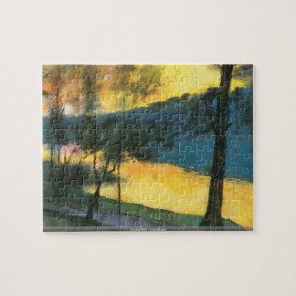 Lesser Ury - Landscape puzzle