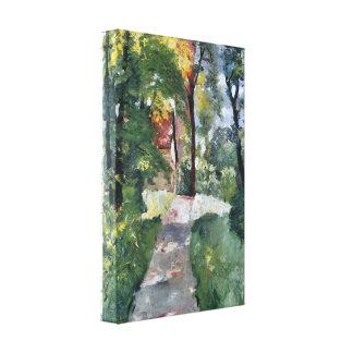 Lesser Ury - Morning sun Canvas Print