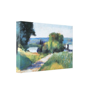 Lesser Ury - Sea and Landscape Gallery Wrapped Canvas