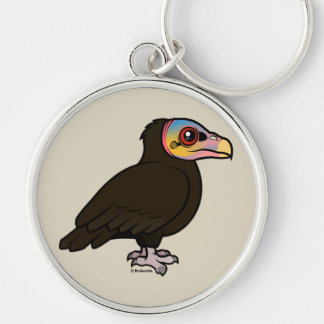 Lesser Yellow-headed Vulture Keychain