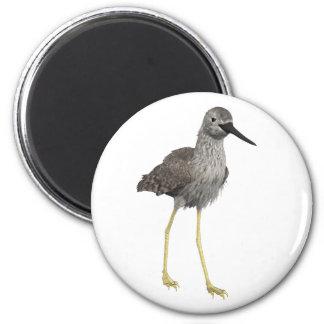 Lesser Yellowlegs 2 Inch Round Magnet