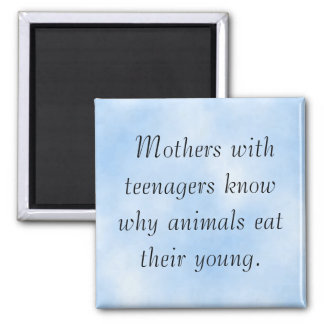 Lesson of Motherhood 2 Inch Square Magnet