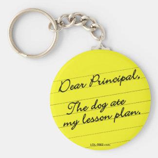 Lesson Plan Keychain