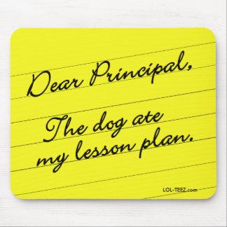 Lesson Plan Mouse Pad