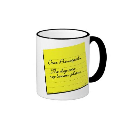 Lesson Plan Coffee Mugs
