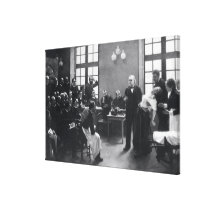 Lesson with Doctor Charcot at the Salpetriere Canvas Print
