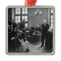 Lesson with Doctor Charcot at the Salpetriere Metal Ornament