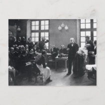 Lesson with Doctor Charcot at the Salpetriere Postcard