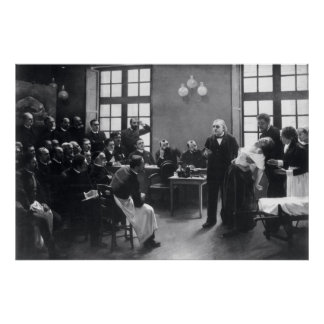 Lesson with Doctor Charcot at the Salpetriere Poster