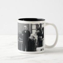 Lesson with Doctor Charcot at the Salpetriere Two-Tone Coffee Mug
