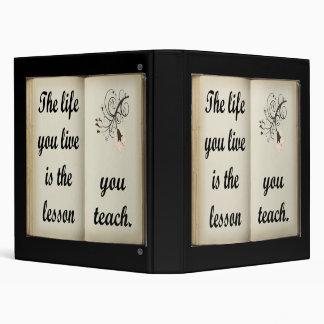 Lesson You Teach Binder