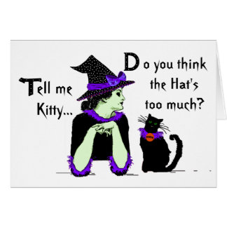 Lessons for Bewitched Cats Card