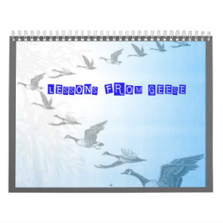LESSONS FROM GEESE CALENDAR