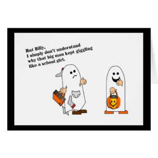 Lessons in Halloweening Card