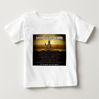 Lessons of Time_Karma Baby T-Shirt